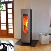 Concept Feuer Matrix, черная/дверь нерж.сталь