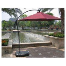 Зонт садовый A005 бордовый