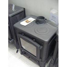 Чугунная печь-камин Ferlux Mercury cook с плитой