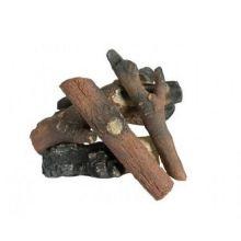 Керамические дрова для биокамина Сосна макси