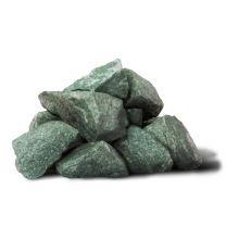 Камень Жадеит колотый средний ведро 20 кг