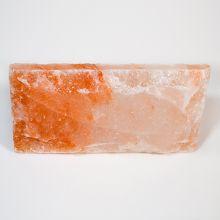 Плитка гималайской соли одна сторона фактурная 20 x 10 x 3,5 см