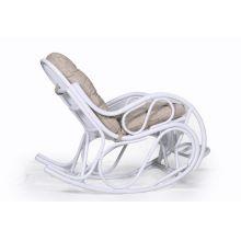 Кресло качалка белое