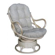 Кресло качалка Прованс - вращающееся