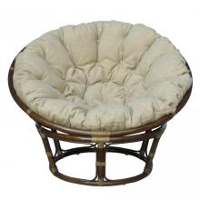 Кресло Papasan из ротанга - кофе