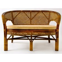 Плетеный диван из ротанга - Пеланги