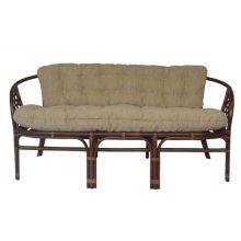 Трехместный диван из ротанга Багама