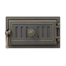Дверца поддувальная Везувий 236 бронза
