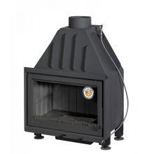 Топка Альфа 700 TB с теплообменником черный шамот
