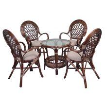 Стол и четыре стула комплект