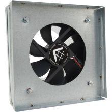 Вентилятор-переходник от трубы к решетке 17х17 D100мм без термостата
