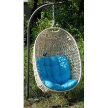 Подвесное кресло качели Тенерифе белые