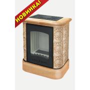 Печь-Камин EcoKamin София цоколь, песочная Барокко