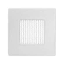 Вентиляционная решетка белая 11B (11x11 мм)