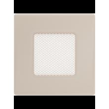 Вентиляционная решетка кремовая 11K (11x11 мм)