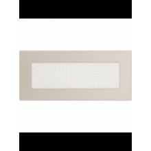 Вентиляционная решетка кремовая 24K (11x24 мм)