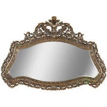 Зеркало настенное бронза