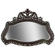 Зеркало настенное - итальянский орех
