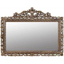 Зеркало прямоугольное бронза