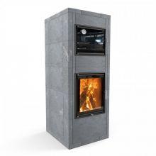Отопительная печь с духовкой Теплый камень HERITAGE V