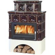 ABX Karelie с прямым цоколем и теплообменником 10 кВт, коричневая