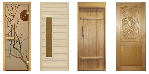 Купить двери для бани